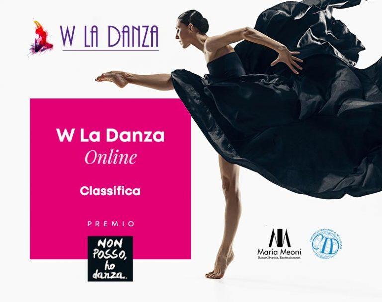 """Classifica W La Danza Festival 2021 - Premio """"Non Posso, Ho Danza!"""""""